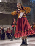 A Folk Dancer at the Nikolayevsky Palace Theater