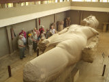 A Colossal Statue of Ramses II