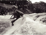 A Female Kayaker on the Gauley River