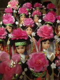 Dolls are Sold at a Flea Market