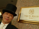 The Doorman at the St Regis Hotel in Beijing