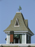 A Sailboat-Shaped Weather Vane Atop the Orleans Inn