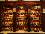 A Display of Tea in a Tea Shop