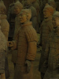Terra-Cotta Warriors Excavated at Qin Shi Huangdis Tomb