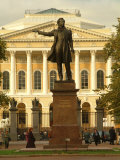 A Statue of Literary Great  Alexander Pushkin