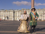 A Couple Dress as Catherine the Great and Czar Alexander