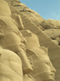 Statues of Ramses II at the Entrance to His Temple