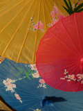 Hand-Painted Parasols are Sold at the Gugong Imperial Palace Museum