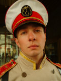 A Bellman in Uniform at the Grand Hotel Europa