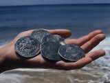 A Handful of Old Coins from the Wreck of the Slotter Hooge