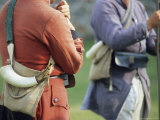 Actors Wear Period Dress for a Reenactment at Fort Frederick