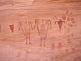 Ancient Pueblo-Anasazi Rock Art Depictions of People and Hands