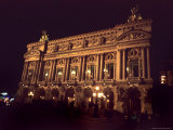 Exterior View of the Opera Garnier in Paris  Paris  France