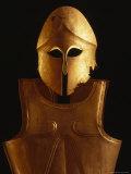 Bronze Thracian Helmet and Breastplate  Sofia  Bulgaria