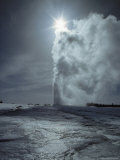 Old Faithful Geyser  Yellowstone National Park  Wyoming