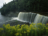 Waterfall in Tahquamenon Falls State Park on Michigan's Upper Peninsula