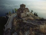 The Ohrid Region Is a World Heritage Site  Church of Saint John Kaneo  Lake Ohrid  Yugoslavia