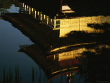 Kinkakuji  the Golden Pavilion  is Reflected in the Water