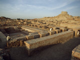 The Remains of a Buddhist Stupa and Monastery from the Kushan Period  Moenjodaro  Pakistan