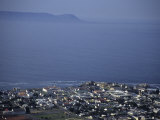 Aerial View of Hermanus and Walker Bay  Hermanus  Republic of South Africa