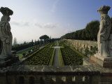 Formal Garden at Castel Gandolfo  Italy