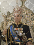 Portrait of the Shah of Iran Taken During Coronation Ceremonies  Gulistan Palace  Tehran  Iran