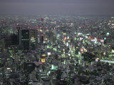 Tokyo Cityscape at Twilight