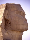 The Iconic Profile of the Legendary Statue of the Great Sphinx