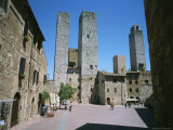 Towers in the Tuscan Village of San Gimignano