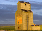 Old Granary at Sipple  Montana  USA