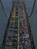 Annual Labor Day Bridge Walk Across the Mackinac Bridge  St Ignace  Michigan
