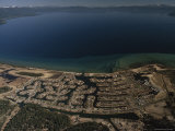 The Development of Tahoe Keys on Lake Tahoe  California