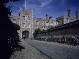 The Entry to Jesus College Cambridge University  Cambridge  England