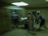 Emergency Medical Staff Rush in a Patient  Maryland Institute for Emergency Medicine