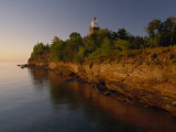 The Big Bay Point Lighthouse  Upper Peninsula  Michigan