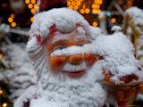 Nissen (Danish Santa Claus) in Copenhagen  Denmark