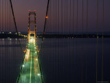 Mackinac Bridge  One of the World's Longest Suspension Bridges  St Ignace  Michigan