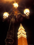 Replica Belltower Outside the Venetian Hotel and Casino  Las Vegas  Nevada  USA