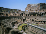 A View Inside Rome's Colosseum