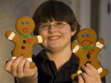 Gingerbread Cookies React to the Prospect of Being Eaten by a Boy