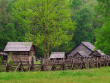 Pioneer Homestead  Great Smoky Mountains  North Carolina  USA