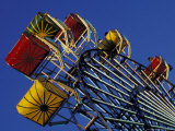 Amusement Ride at the Washington State Fair in Puyallup  Washington  USA