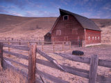 Red Barn  Wallowa County  Oregon  USA