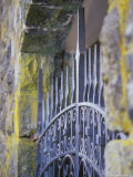 Wrought Iron Fence Detail  Crown Point  Oregon  USA