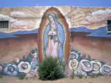 Virgen de Guadelupe  Chimayo  New Mexico  USA