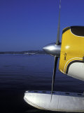 Seaplane on Lake Washington  Seattle  Washington  USA