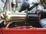 Old-Fashioned and Antique Car Horn