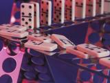 Fallen Set of Dominoes