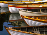 Boats at the Wooden Boat Center  Lake Union  Seattle  Washington  USA