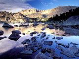Bridger Wilderness  Wind River Range  Yellowstone National Park  Wyoming  USA